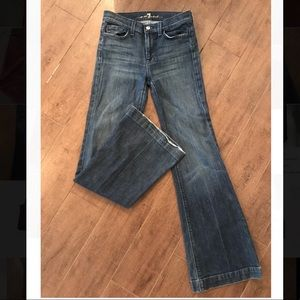 7 For All Man Kind Flare Jeans